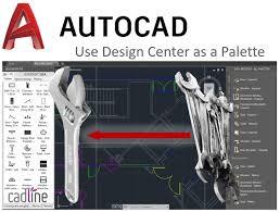 AutoCAD Design Center - Pantalla principal