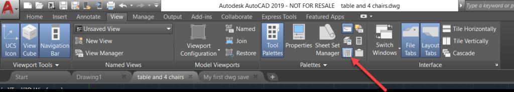 AutoCAD Design Center - Tutorial. Paso 1