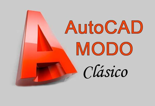 AutoCAD modo clásico.