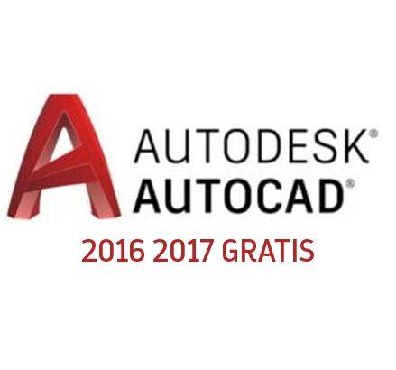 AutoCad 2016-2017 descargar gratis