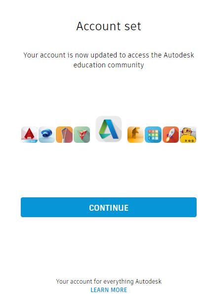cuenta verificada autodesk educaction cummunity
