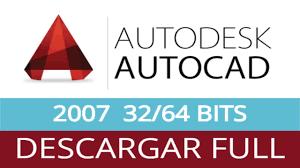 Descargar gratis AutoCAD 2007